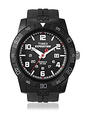 TIMEX Reloj de cuarzo Man Expedition Rugged Negro 43 mm