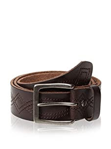 Bill Adler Design Men's Figure Eight Stitch Belt (Brown)