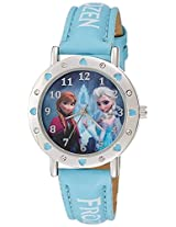 Disney Analog Multi-Colour Dial Girl's Watch - AW100449