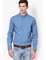 Blue Regular Fit Casual Shirt Tommy Hilfiger