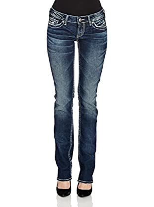 Silver Jeans & Co. Straight Leg Jeans Aiko