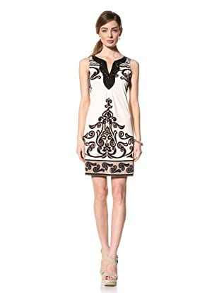Hale Bob Women's Embellished Sleeveless Dress