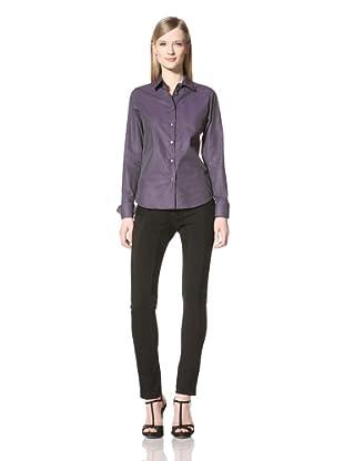 Pink Tartan Women's Wilshire Shirt (Plum/Grey)