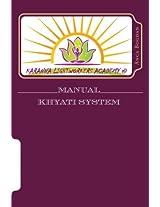 Manual Khysti: Karanna Lightworkers Academy