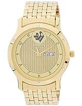Sonata Sitara Analog Gold Dial Women's Watch - 7107YM01