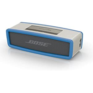 Bose SoundLink Mini Bluetooth Wireless Speaker and Soft Blue Cover Bundle