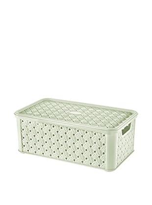 Tontarelli Caja Contenedor x 8 Arianna Media 4L Verde