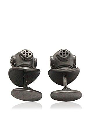 Blackjack Jewelry Manschettenknopf Scuba Helmet