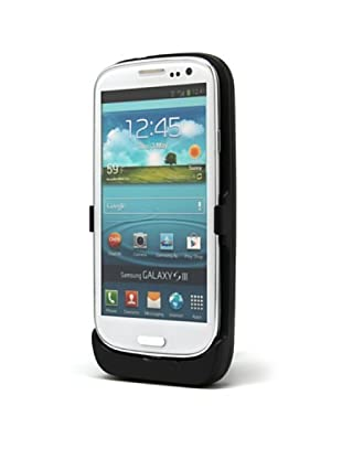 Unotec Custodia con Batteria Compatibile con Galaxy S3 3500 Mah