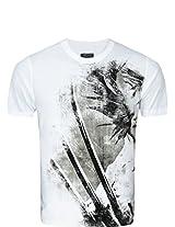 Zovi Wolverine White Graphic T-Shirt