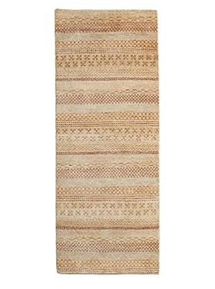 Darya Rugs Modern Oriental Rug, Beige, 2' 6