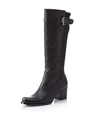Adrienne Vittadini Women's Horatio Knee-High Boot (Black)