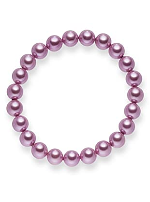 Perldor - 60650234 Pulsera de mujer con perla natural Rosa 20 cm