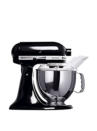 KitchenAid Küchenmaschine Ksm150Pseob + MVSA schwarz