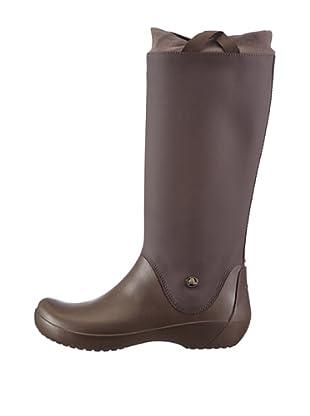 Crocs Botas Rainfloe Waterproof (Café)