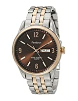 Armitron Men's 20/5049BNTR Day/Date Function Dial Two-Tone Bracelet Watch