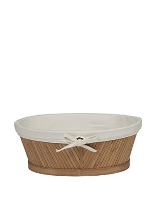 Creative Bath Oval Vanity Basket, Natural