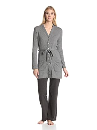 Valery Sleepwear Women's Giselle Robe (Grey)