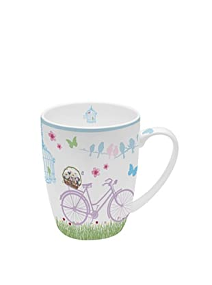 Easy Life Design Mug in Porcellana Bone China Spring 350 ml