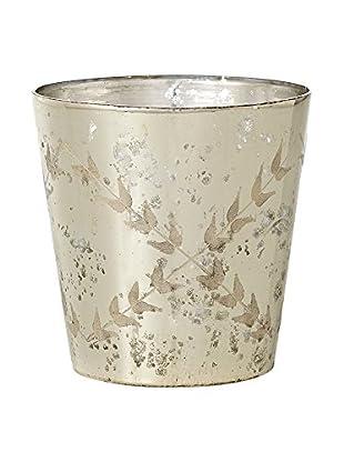 Sage & Co. Etched Mercury Glass Vase
