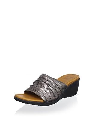 Cougar Women's Muse Slide Sandal (Pewter Metallic)