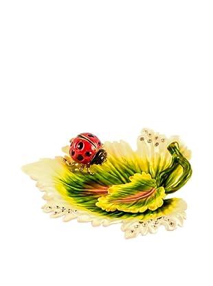 Ciel Collectables Bejeweled Ladybug Plate