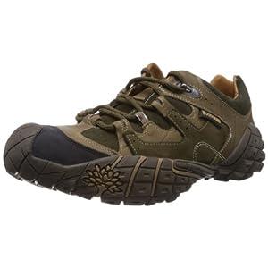 Woodland Men's Olive Green Leather Boots - 8 UK/India (42 EU)