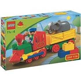 【クリックでお店のこの商品のページへ】レゴ デュプロ 列車セット 3770