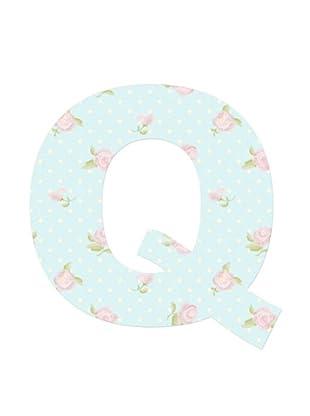 Letra Decorativa Letra Q