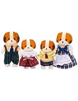 """Epoch Sylvanian Sylvanian Families Family Doll """" Family of Chiffon Dog Fs-11"""""""