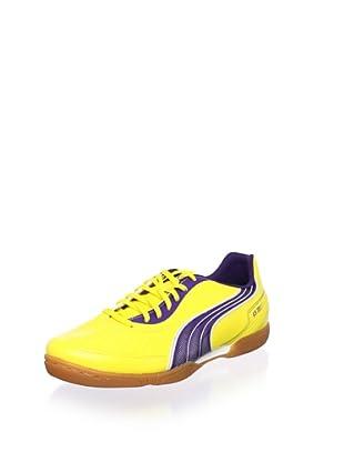 PUMA Men's V5.11 IT Indoor Trainer (Vibrant Yellow/Parachute Purple/White)