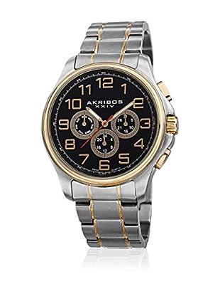 Akribos XXIV Uhr mit Schweizer Quarzuhrwerk AK748TTG 43 mm