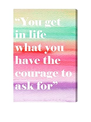 Oliver Gal 'The Courage' Canvas Art