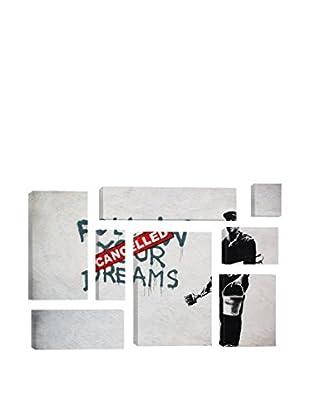 Banksy Dreams Cancelled 8-Piece Giclée On Canvas