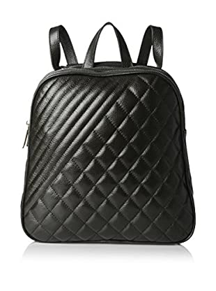 Zenith Women's Quilted Backpack, Black