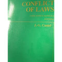 Conflict of Laws: Cases, Notes and Materials