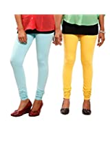 1FORME-GL-COMBO-Yellow and Blue Leggings