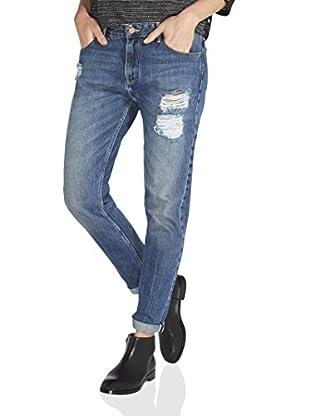 Wrangler Boyfriend W27MBZ82D, Jeans Femme, Bleu (Musthave Blue), 28/32(UK)