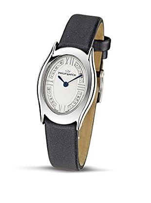 Philip Watch Quarzuhr Jewel schwarz 36  mm