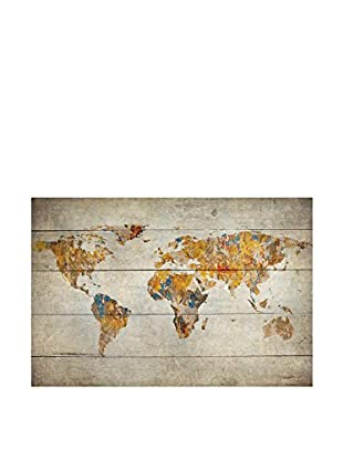 Really Nice Things Holztafel World Map
