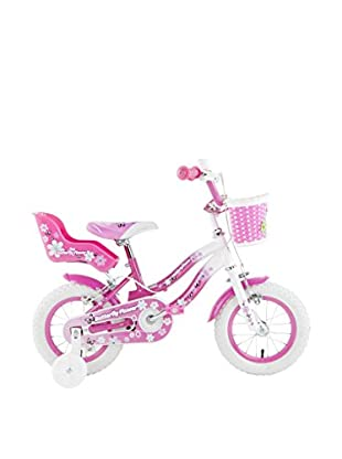 Schiano Cicli Bicicleta 12 Butterfly 01V. Blanco / Rosa