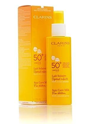 Clarins Sun Care Milk SPF 50 150 ml. Preis/100ml: 15.3 EUR.