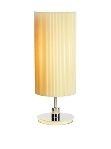Adesso Hepburn Table Lamp, Chrome