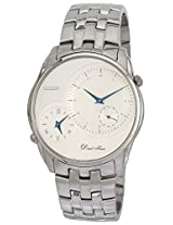 Citizen Analog White Dial Men's Watch - AO3000-50B