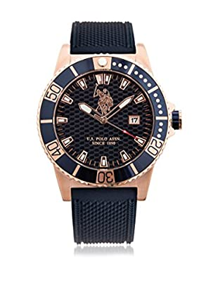 US Polo Association Uhr mit Miyota Uhrwerk Man Aspen USP4395BL 44 mm