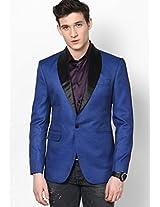 Solid Blue Blazer