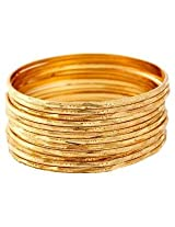 Gold-plated Bangles by The Pari-TP11000