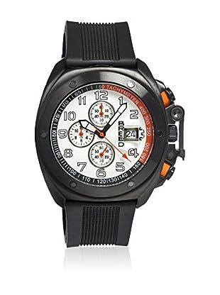 Breed Reloj con movimiento cuarzo japonés Brd4603 Negro 45  mm