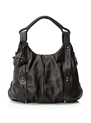 Allibelle Women's Mohawk Hobo (Black/Black)