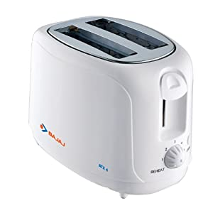 Bajaj ATX 4 Pop Toaster-White